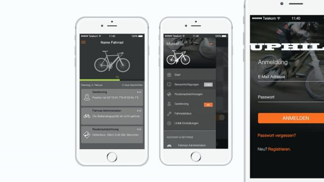 Connected Bike App
