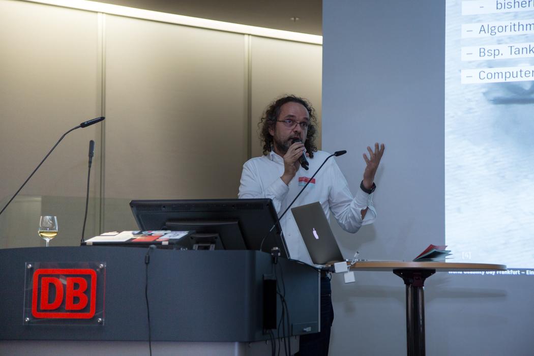 Jochen Denziger auf World Usability Day 2017 in Frankfurt