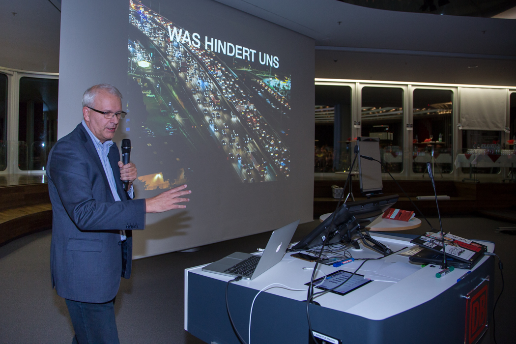 Karl Herrbruck auf World Usability Day 2017 in Frankfurt