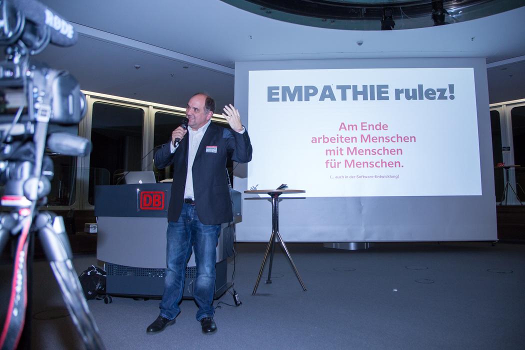 Dr. Ronald Hartwig auf World Usability Day 2017 in Frankfurt