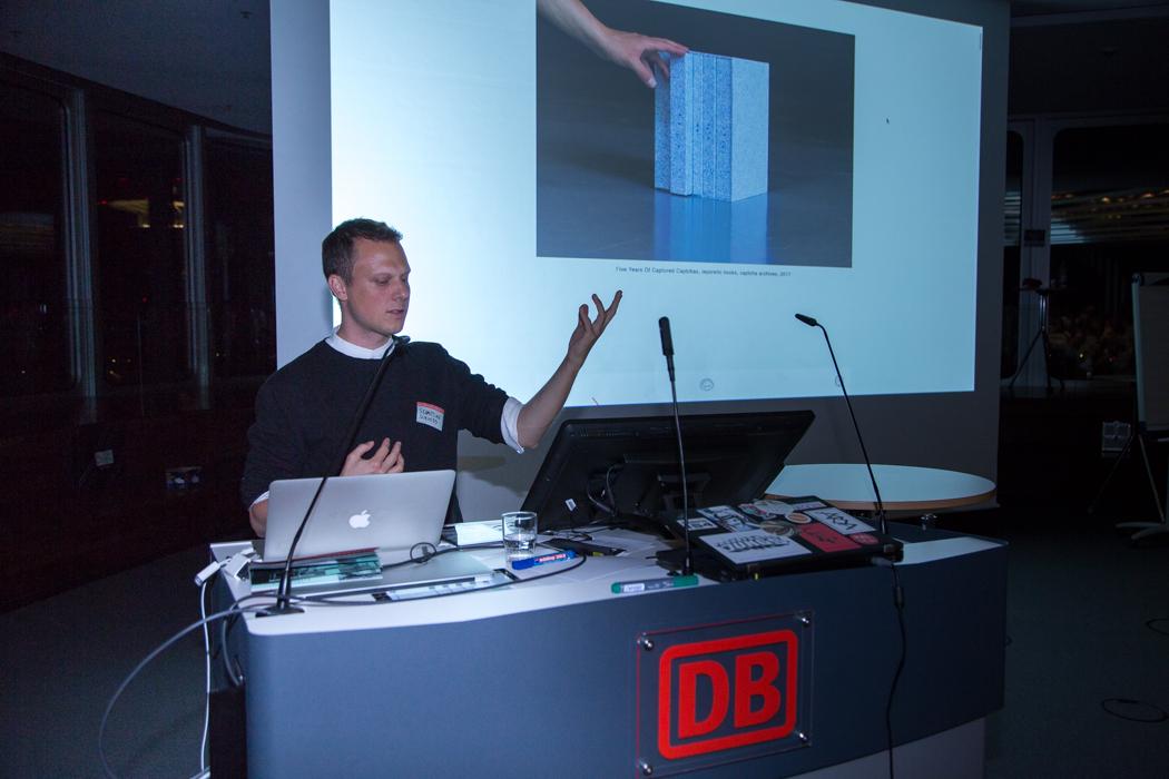 Sebastian Schmieg auf World Usability Day 2017 in Frankfurt