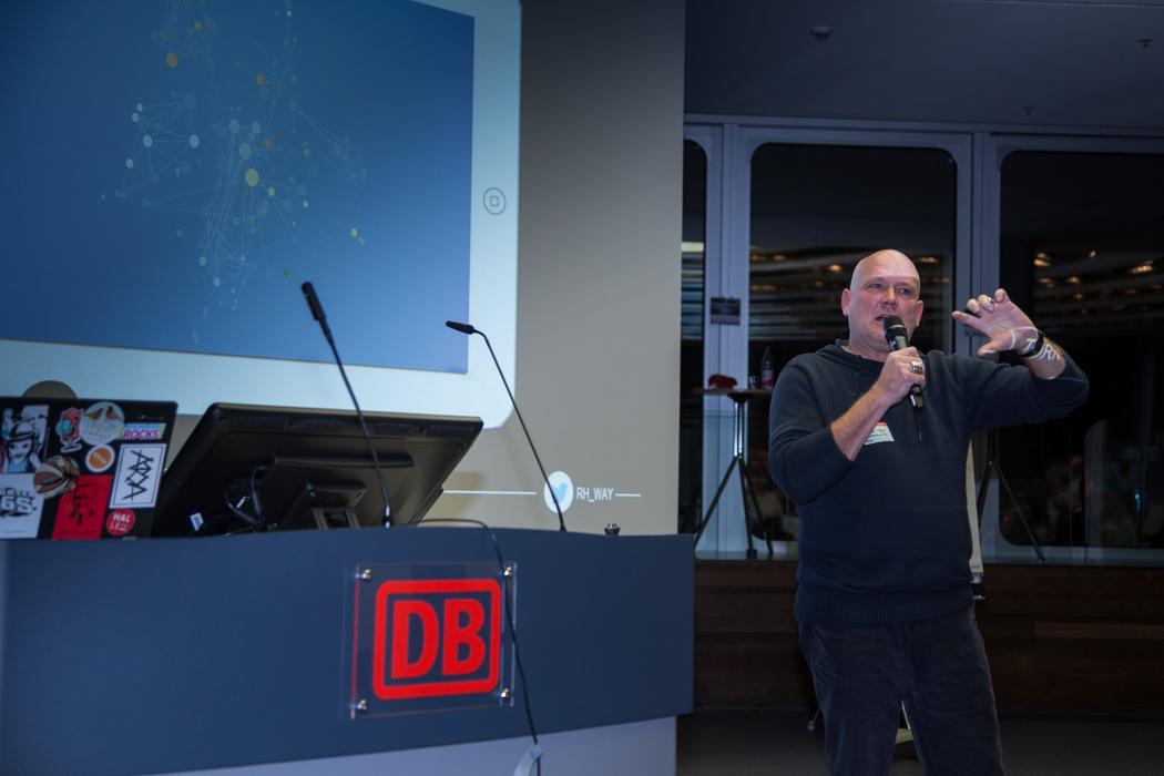 Oliver Florschütz auf World Usability Day 2017 in Frankfurt