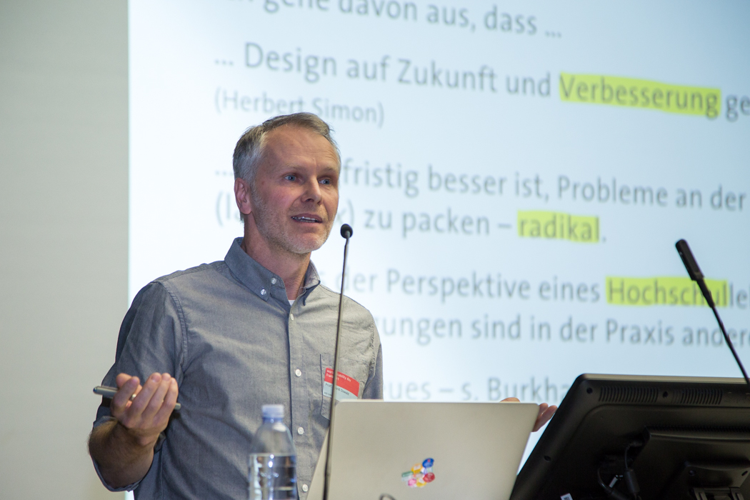 Prof. David Oswald auf World Usability Day 2017 in Frankfurt