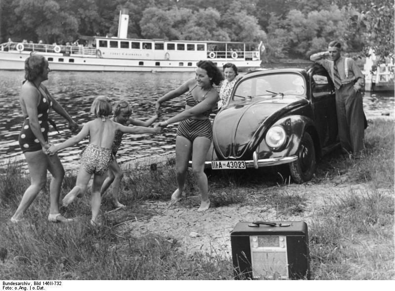 VW Käfer als Symbol der Freiheit