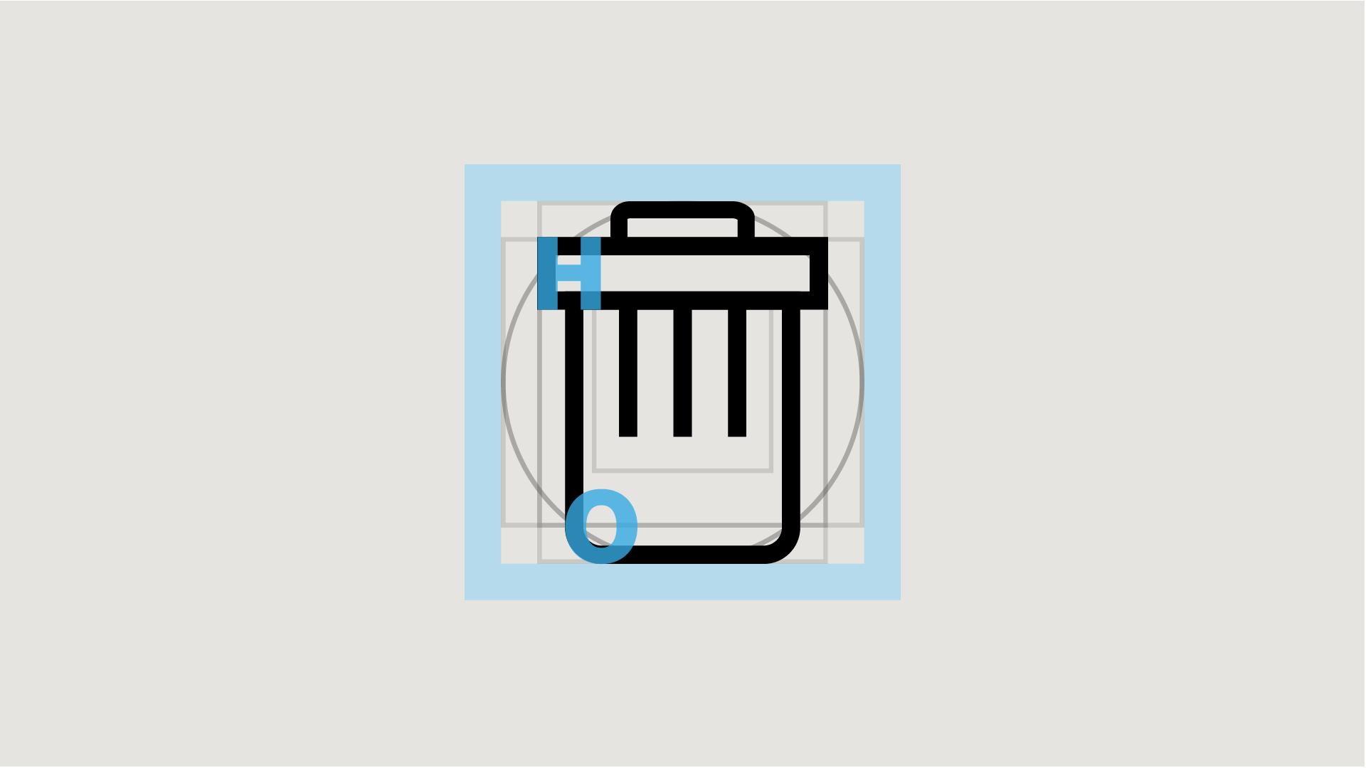 Formale Vorgaben für das Icon Design ergeben sich aus dem Corporate Design Richtlinen der Marke.