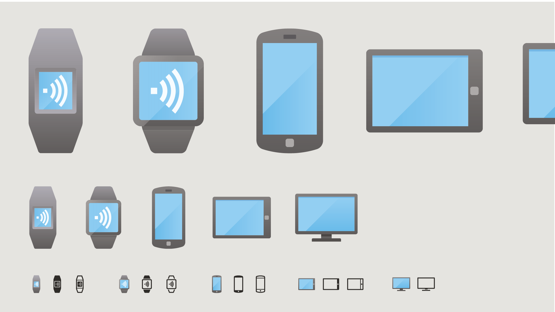 Aus klaren Anforderungen an das Icon Design ergeben sich oft unterschiedliche Formen der Darstellung für eine Icon-Metapher