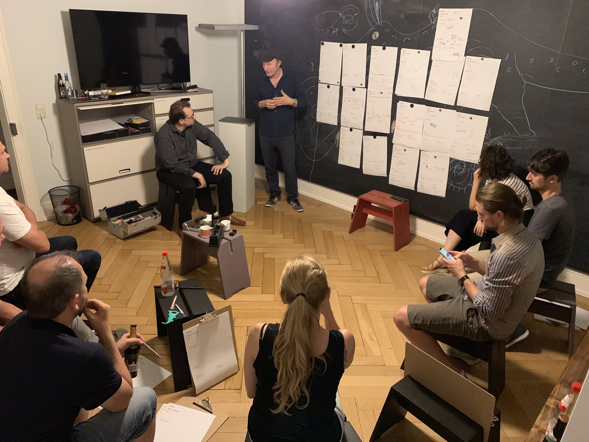 Workshop zu Design Pattern und Designsystemen beim DSX im Büro von Iconstorm
