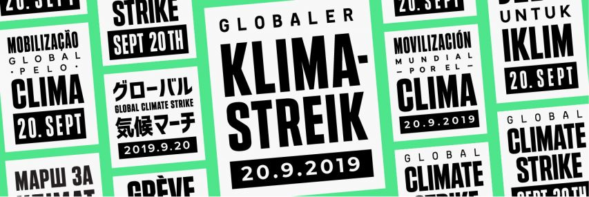 Globaler Klimastreik am 20. September
