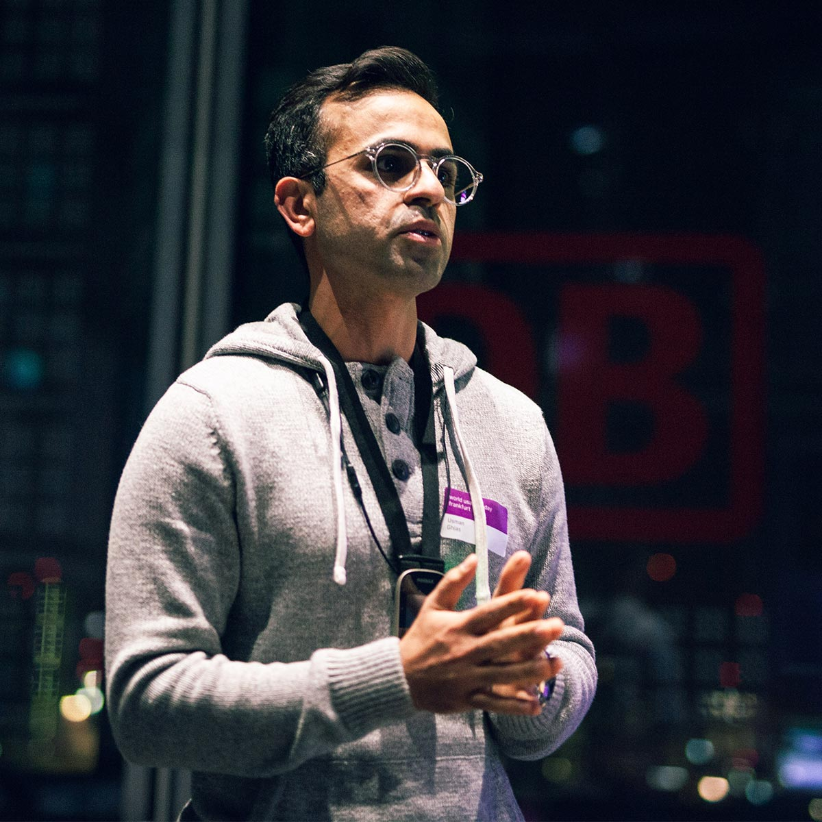Sicher lernen in virtuellen Umgebungen – Usman Ghias