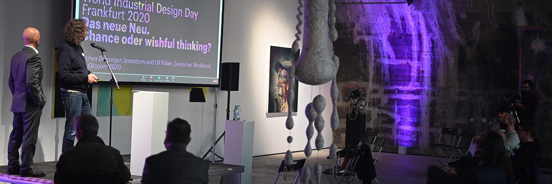 Woröd Industrial Design Day Frankfurt 2020 – Einführung durch Jochen Denzinger und Ulf Kilian