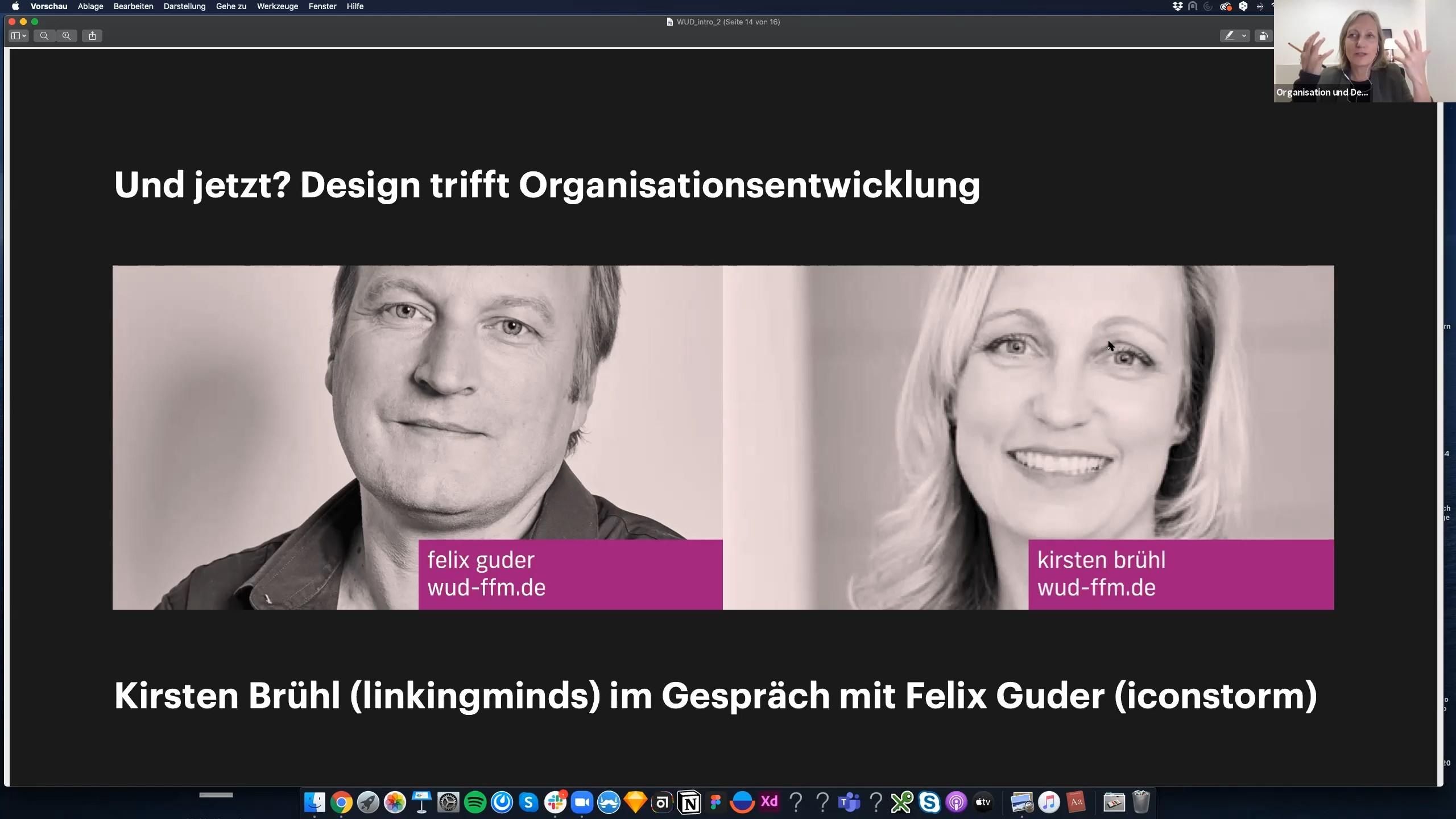 Design trifft Organisationsentwicklung – Kirsten Brühl im Gespräch mit Felix Guder