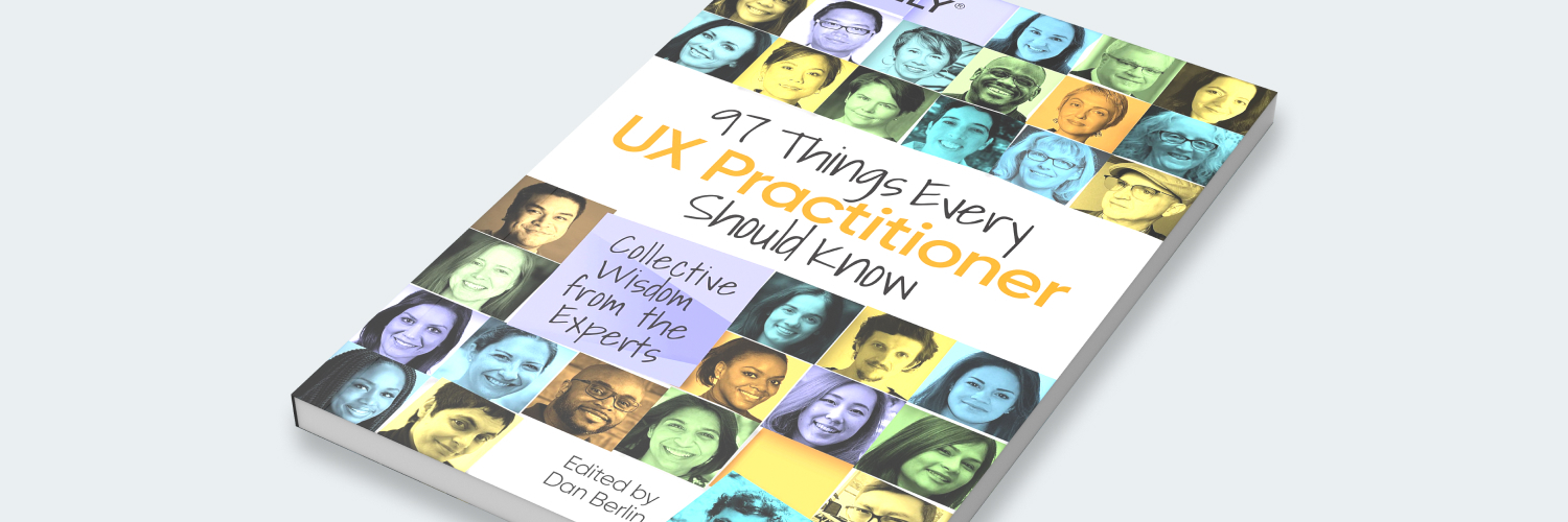 Bild: Cover 97 Things Every UX Practitioner Should Know