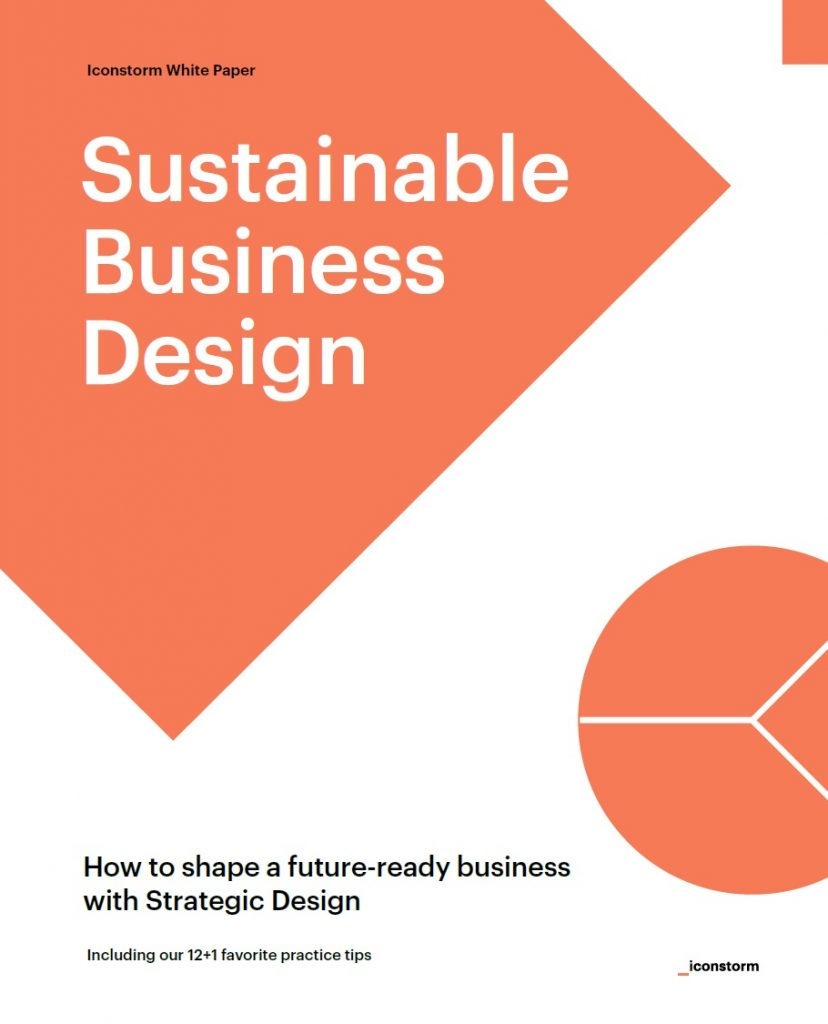 Bild: Cover Iconstorm White Paper Sustainable Business Design