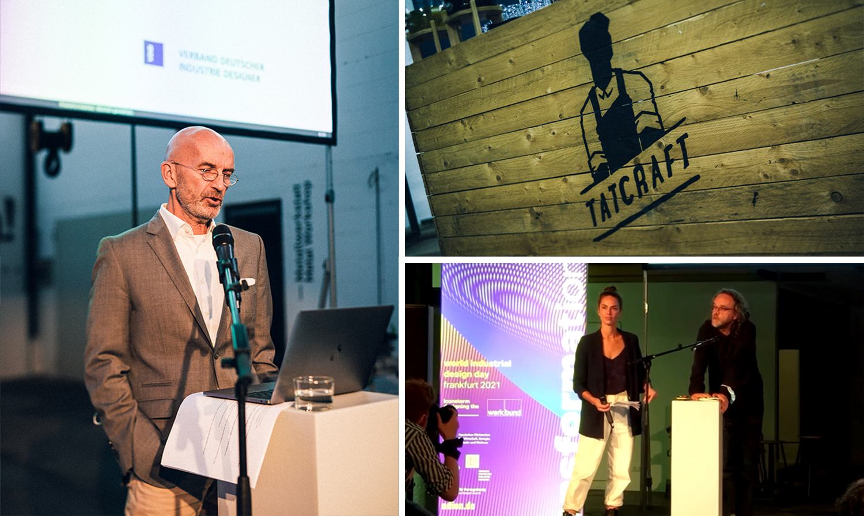 Bild: WIDD Frankfurt 2021 mit Yara Dobra, Jochen Denzinger und Ulf Kilian