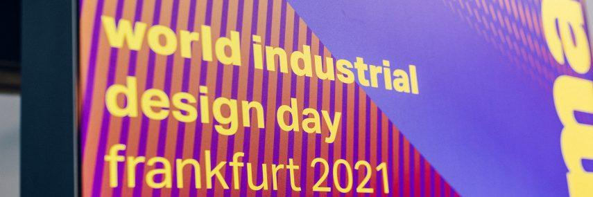 Titelbild World Industrial Desgin Day (WIDD) Frankfurt 2021