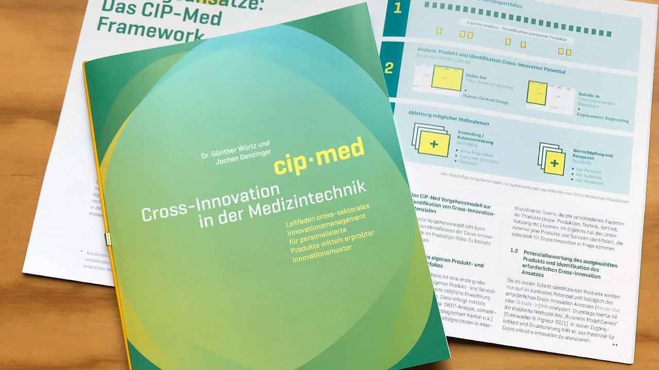 Download: CIP-Med Leitfaden 2018 – Cross-Industrie-Innovation in der Medizintechnik
